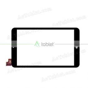 WJ779-FPC-V1.0 Digitizer Glass Touch Screen Replacement for 8 Inch MID Tablet PC