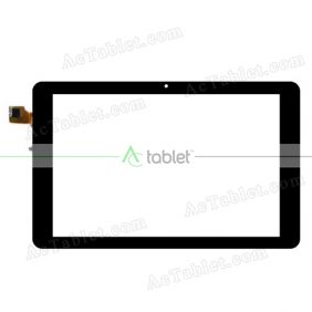F-WGJ10353-V1 Digitizer Glass Touch Screen Replacement for 10.1 Inch MID Tablet PC
