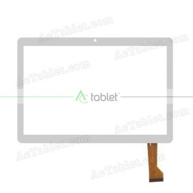 XLD1045-V0 Digitizer Glass Touch Screen Replacement for 10.1 Inch MID Tablet PC