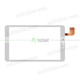 SQ-PG81094-FPC-A0 Digitizer Glass Touch Screen Replacement for 8 Inch MID Tablet PC