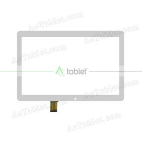 SQ-PG1048B03-FPC-A0 Digitizer Glass Touch Screen Replacement for 10.1 Inch MID Tablet PC