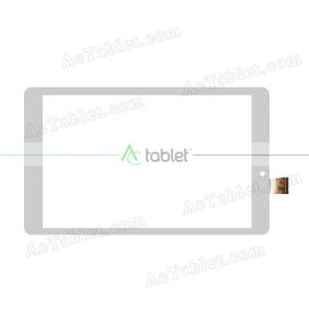 MGLCTP-801327-80789FPC Digitizer Glass Touch Screen Replacement for 8 Inch MID Tablet PC