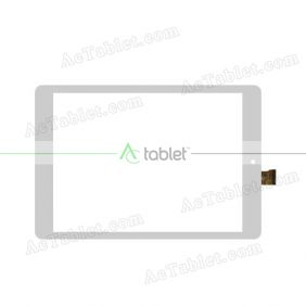 HK80DR2843 Digitizer Glass Touch Screen Replacement for 8 Inch MID Tablet PC