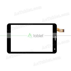 RS7F665G_V1.0 Digitizer Glass Touch Screen Replacement for 7 Inch MID Tablet PC