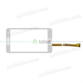 WJ701-FPC V1.0 Digitizer Glass Touch Screen Replacement for 7 Inch MID Tablet PC