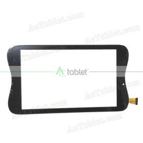 GT70GGK82 V1.0 Digitizer Glass Touch Screen Replacement for 7 Inch MID Tablet PC