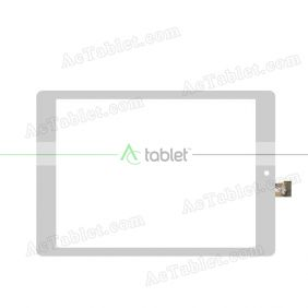 HK80DR5029W-V02 Digitizer Glass Touch Screen Replacement for 8 Inch MID Tablet PC
