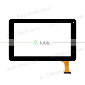 HN 98V Digitizer Glass Touch Screen Replacement for 9 Inch MID Tablet PC