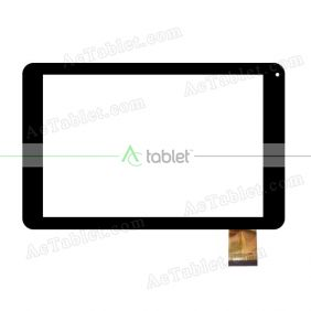 QS-1011000A Digitizer Glass Touch Screen Replacement for 10.1 Inch MID Tablet PC