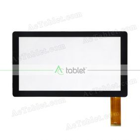 QCY-FPC-070068-V1 Digitizer Glass Touch Screen Replacement for 7 Inch MID Tablet PC