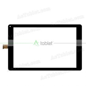MGLCTP-101083 Digitizer Glass Touch Screen Replacement for 10.1 Inch MID Tablet PC