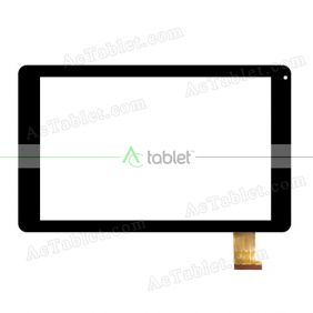 XLD1031-V0 Digitizer Glass Touch Screen Replacement for 10.1 Inch MID Tablet PC