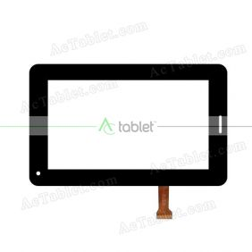 GT07009B Digitizer Glass Touch Screen Replacement for 7 Inch MID Tablet PC