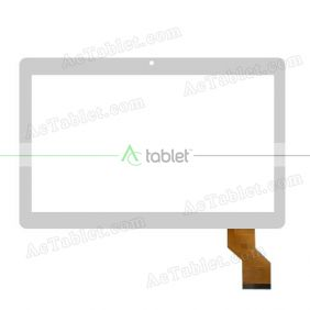 XLD1047-V1 Digitizer Glass Touch Screen Replacement for 10.1 Inch MID Tablet PC