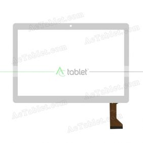 HR101PG5022-V01 Digitizer Glass Touch Screen Replacement for 10.1 Inch MID Tablet PC