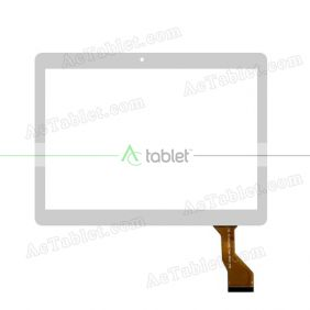 MJK-0746-FPC Digitizer Glass Touch Screen Replacement for 10.1 Inch MID Tablet PC