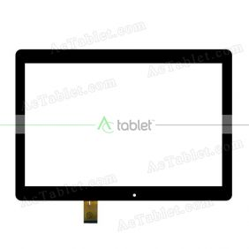 kingvina-176 Digitizer Glass Touch Screen Replacement for 10.1 Inch MID Tablet PC