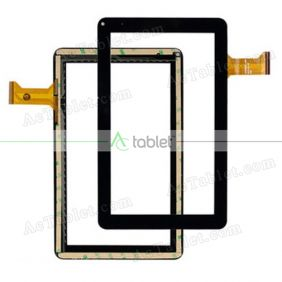 CZY0366A01-FPC Digitizer Glass Touch Screen Replacement for 9 Inch MID Tablet PC