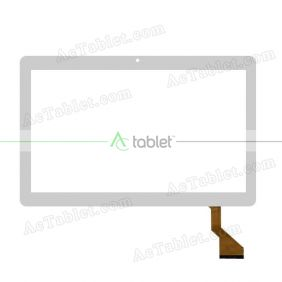 HN 1038-V1 D28XR18 FHX Digitizer Glass Touch Screen Replacement for 10.1 Inch MID Tablet PC