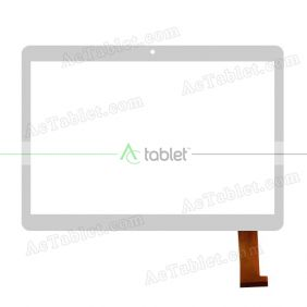 JJT105-4 XYL Digitizer Glass Touch Screen Replacement for 10.1 Inch MID Tablet PC