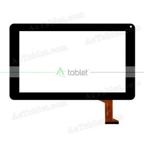 kingvina-163 FHX Digitizer Glass Touch Screen Replacement for 9 Inch MID Tablet PC
