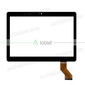MGLCTP-101446-10617FPC Digitizer Glass Touch Screen Replacement for 10.1 Inch MID Tablet PC