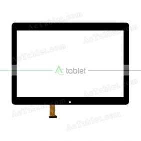 MGLCTP-101380A Digitizer Glass Touch Screen Replacement for 10.1 Inch MID Tablet PC