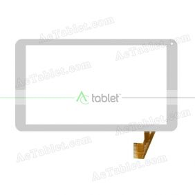 Digitizer Touch Screen Replacement for Yuntab D102 Allwinner A33 Quad Core 10.1 Inch Tablet PC