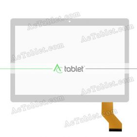Digitizer Glass Touch Screen Replacement for Yuntab K107 3G MT6580 Quad Core 10.1 Inch Tablet PC