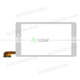 HN 0758-FPC-V0 Digitizer Glass Touch Screen Replacement for 7 Inch MID Tablet PC
