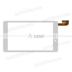 HN 0758-FPC-V2 Digitizer Glass Touch Screen Replacement for 7 Inch MID Tablet PC