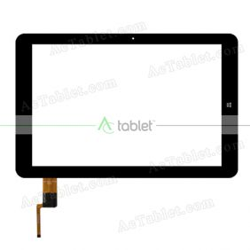 Touch Screen Replacement for Chuwi Hi12 Dual Boot CW1520 Z8350 Quad Core Windows Tablet PC