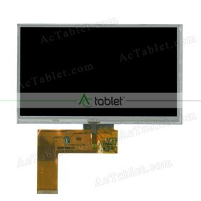 "Replacement Digitizer LCD Screen for Noza Tec Truck Car GPS Sat Nav 7"" Screen with Bluetooth"