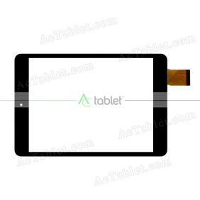 Digitizer Touch Screen Replacement for i-Life itell K1200QB Quad Core 8 Inch Tablet PC