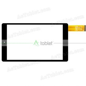Replacement Touch Screen for Trekstor SurfTab Breeze 9.6 Inch Quad 3G ST96416-1 Tablet PC