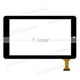 CLV10068A JT-1L Digitizer Glass Touch Screen Replacement for 10.1 Inch MID Tablet PC