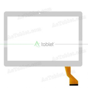 HN 1041-FPC-V1 Digitizer Glass Touch Screen Replacement for 10.1 Inch MID Tablet PC