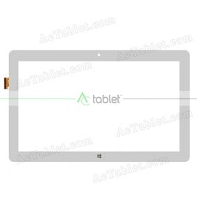Digitizer Touch Screen Replacement for Teclast Tbook16 Pro X5-Z8300 Quad Core 11.6 Inch Tablet PC