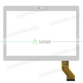 JC-17001010FPC Digitizer Glass Touch Screen Replacement for 10.1 Inch MID Tablet PC