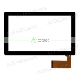 CTP070021_FCP_1.0 Digitizer Glass Touch Screen Replacement for 7 Inch MID Tablet PC