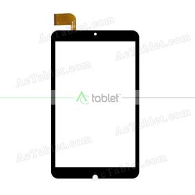 WJ1510-FPC-V1.0 Digitizer Glass Touch Screen Replacement for 8 Inch MID Tablet PC