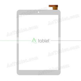 XLD813-V0 Digitizer Glass Touch Screen Replacement for 8 Inch MID Tablet PC