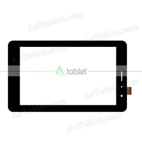 WJ1389-FPC V1.0 Digitizer Glass Touch Screen Replacement for 7 Inch MID Tablet PC