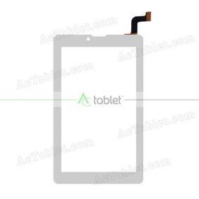 WJ1611-FPC-V1.0 Digitizer Glass Touch Screen Replacement for 7 Inch MID Tablet PC