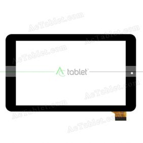WJ1336-FPC V2.0 Digitizer Glass Touch Screen Replacement for 7 Inch MID Tablet PC