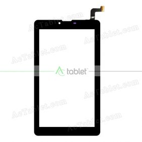 FCP-FC70S786-02 Digitizer Glass Touch Screen Replacement for 7 Inch MID Tablet PC