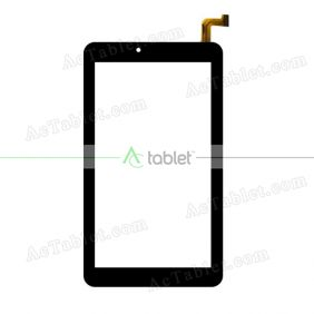 HK070PG3254B-V02 Digitizer Glass Touch Screen Replacement for 7 Inch MID Tablet PC