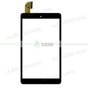 FYX.P2-0350-080A Digitizer Glass Touch Screen Replacement for 8 Inch MID Tablet PC
