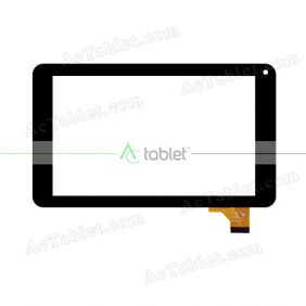 MGLCTP-70718-70551FPC Digitizer Glass Touch Screen Replacement for 7 Inch MID Tablet PC