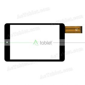 PB80JG1383 Digitizer Glass Touch Screen Replacement for 8 Inch MID Tablet PC